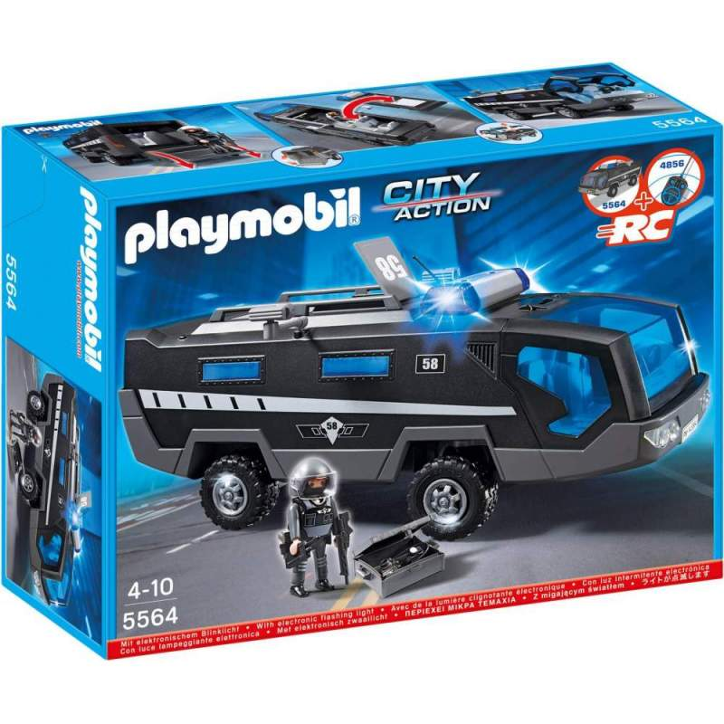 Playmobil Masina De Comanda A Fortelor Speciale (5564)