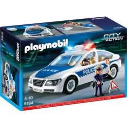 Playmobil Masina De Politie Cu Lumini (5184)