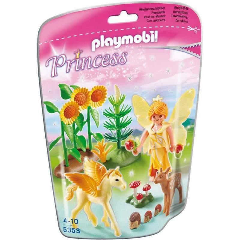 Playmobil Zana Toamnei Cu Cal Inaripat (5353)