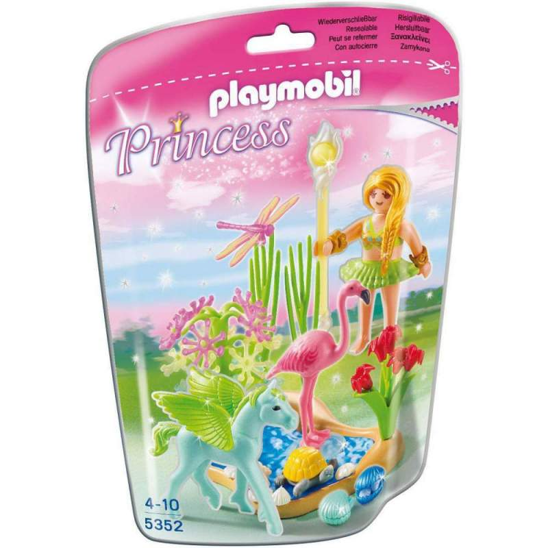 Playmobil Zana Verii Cu Cal Inaripat (5352)