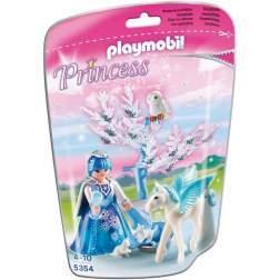 Set Playmobil Princess - Zana Iernii Cu Cal Inaripat 5354