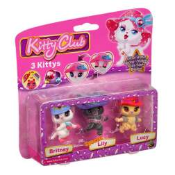 Set 3 figurine - Britney, Lily, Lucy - Kitty Club