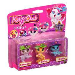 Set 3 figurine - Samantha, Claire, Alexis - Kitty Club