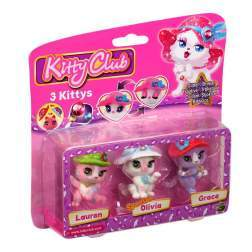 Set 3 trei figurine - Lauren, Olivia, Grace - Kitty Club