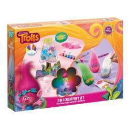 Set de creatie Totum 2 in 1 - Trolls