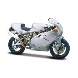 Bburago - Ducati Supersport 900Fe - Argintiu - 1:18 Cycle