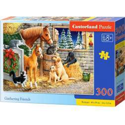 Puzzle Castorland - Gathering Friends, 300 piese