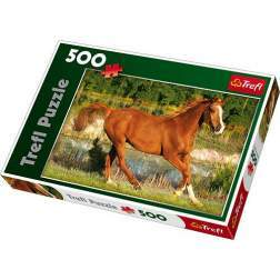 Puzzle Trefl - The Beauty Of Gallop, 500 piese (37184)