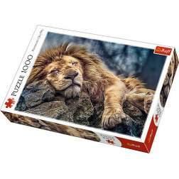 Puzzle Trefl - Sleeping Lion, 1000 piese (10447)