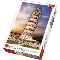 Puzzle Trefl - Turnul Din Pisa, 1000 piese (10441)