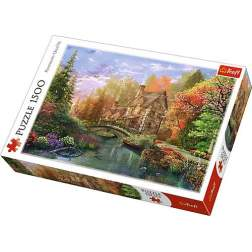 Puzzle Trefl - Cottage By The Lake, 1500 piese (26136)