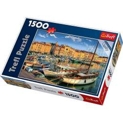Puzzle Trefl - Old Port In Saint Tropez, 1500 piese (26130)