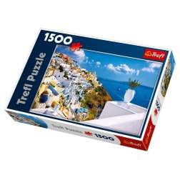 Puzzle Trefl - Santorini, Grecia, 1500 piese (26119)