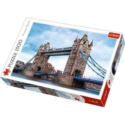 Puzzle Trefl - The Tower Bridge Over Thames River, 1500 piese (26140)
