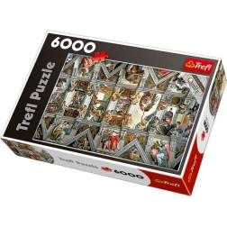 Puzzle Trefl - Sistine Chapel Ceiling, 6000 piese (65000)