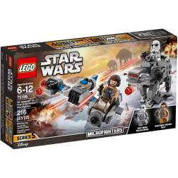 LEGO Ski Speeder contra Walker al Ordinului Intai Microfighters - LEGO 75195 (Star Wars)