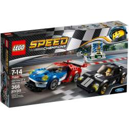 LEGO 2016 Ford GT & 1966 Ford GT40 - LEGO 75881 (Speed Champions)