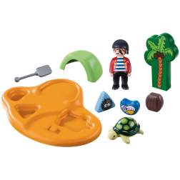 Set Playmobil 1.2.3 - Insula Piratilor 9119