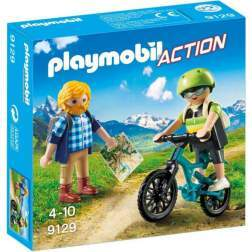 Set Playmobil Action - Biciclist Si Calator 9129