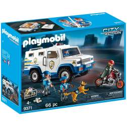 Set Playmobil City Action - Masina De Politie Blindata 9371