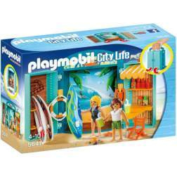Set Playmobil City Life - Cutie De Joaca - Magazin Articole Surf 5641