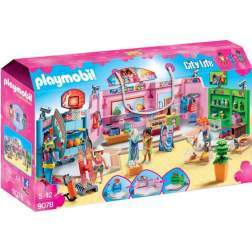 Set Playmobil City Life - Centru Comercial 9078