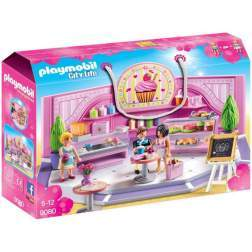 Set Playmobil City Life - Cofetarie 9080