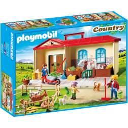 Set Playmobil Country - Cutie De Joaca - Casuta De La Tara 4897