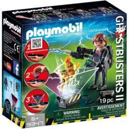 Set Playmobil City Life - Ghostbuster - Venkman 9347