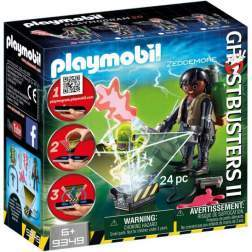 Set Playmobil City Life - Ghostbuster - Zeddemore 9349