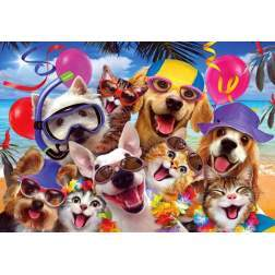 Puzzle Anatolian - Beach Party Selfie, 260 piese (3318)