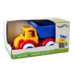 Camion Autobasculanta cu 2 figurine - Jumbo