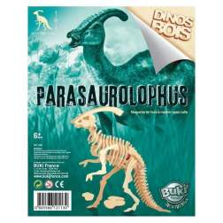 Dinozaur din lemn Parasaurolophus