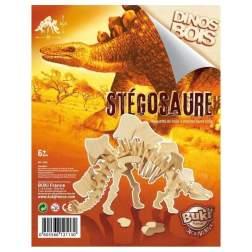 Dinozaur din lemn Stegosaurus