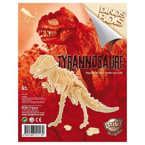 Dinozaur din lemn Tyrannosaurus