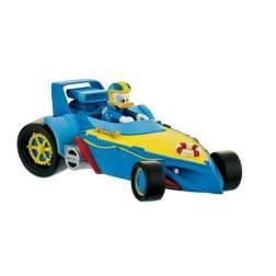 Figurina Bullyland - Donald cu masina - Mickey si pilotii de curse