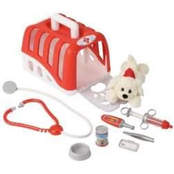 Kit veterinar cu catelus si accesorii