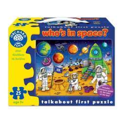 Puzzle Spatiul cosmic (25 piese) WHO'S IN SPACE