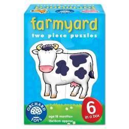 Set 6 puzzle Ferma (2 piese) FARMYARD