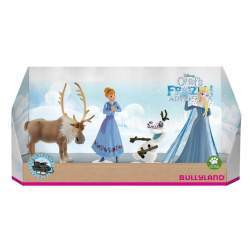 Set figurine Bullyland - Olafs Frozen Adventure - 4 figurine