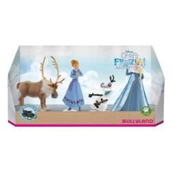 Set figurine Bullyland - Olafs Frozen Adventure - 4 figurine