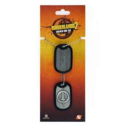 BORDERLANDS SOLDIER DOG TAG