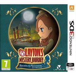 LAYTONS MYSTERY JOURNEY KATRIELLE AND THE MILLIONAIRES CONSPIRACY - 3DS