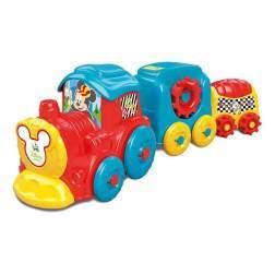 Tren De Stivuit Cu Activitati Mickey Mouse - Clementoni