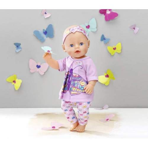 Baby Born - Set Hainute Cu Fluturasi