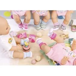 Baby Born - Sosete '2 Perechi' Diverse Modele