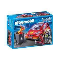 Set Playmobil City Action - Pompier Cu Masina 9235