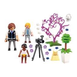 Set Playmobil City Life - Copii Cu Flori Si Fotograf 9230