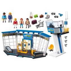 Set Playmobil City Action - Aeroport Cu Turn De Control 5338