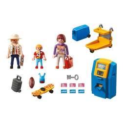 Set Playmobil City Action - Familie La Aparatul De Check-In 5399